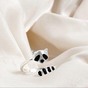 Jewelry - Whimsical & Adjustable Raccoon Ring